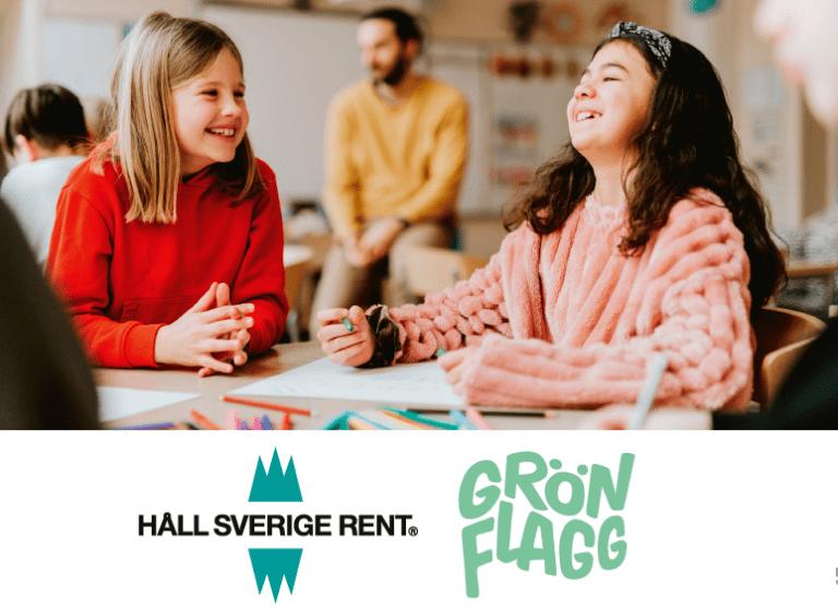 Håll Sverige Rent Grön Flagg