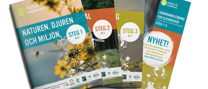 Natur & MIljöbokens elevdelar och handledningar 2021